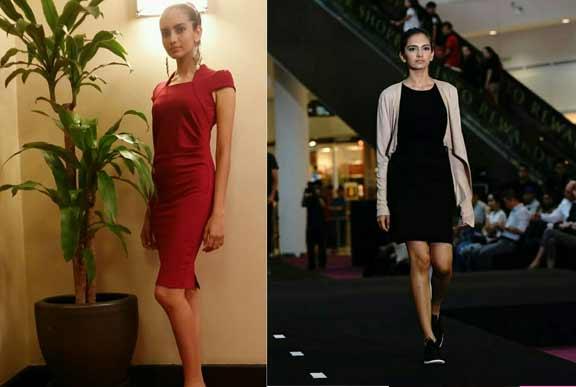 international model for fashion show