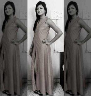 Khusbu Sharda from Glamour fashion institute